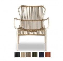 OUTDOOR - Vincent SHEPPARD  Fauteuil & Repose-pieds - LOOP