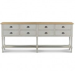 GRANDE CONSOLE D'ATELIER COUNTRY CHIC