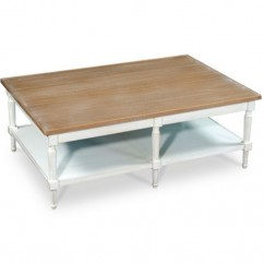 TABLE BASSE COUNTRY CHIC