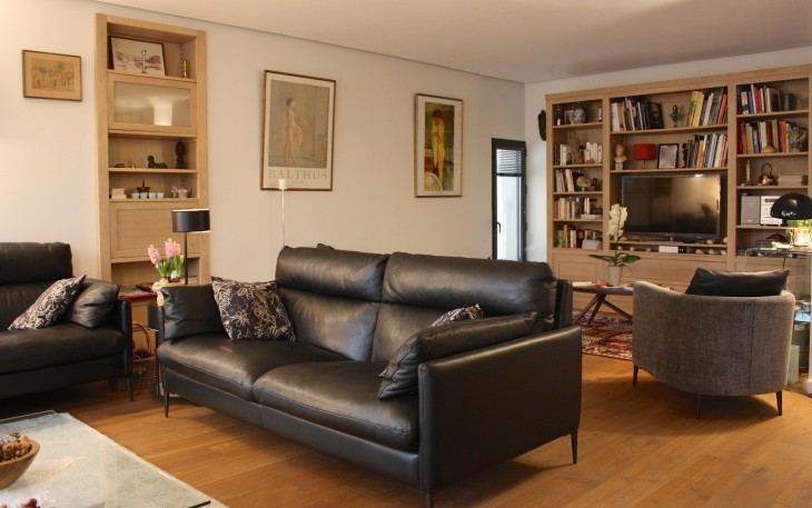 Interieur Contemporain Meubles Sur Mesure Decorateur