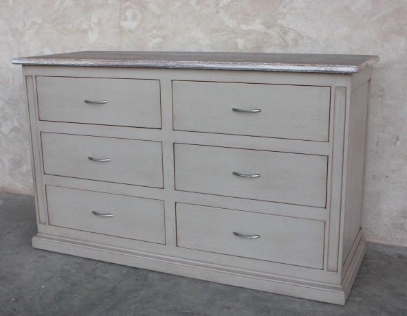 commode grise patin e rialto coup de soleil mobilier. Black Bedroom Furniture Sets. Home Design Ideas