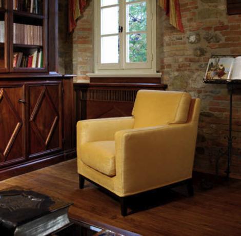 fauteuil d houssable en tissu coup de soleil mobilier. Black Bedroom Furniture Sets. Home Design Ideas