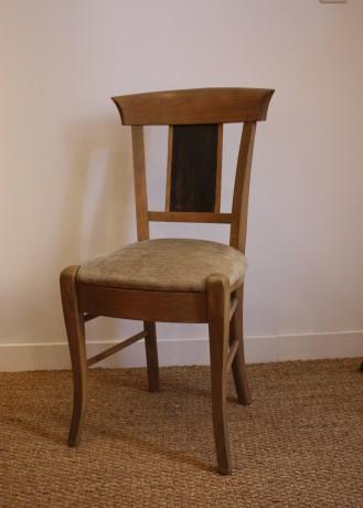 chaise assise tissu arthur coup de soleil mobilier. Black Bedroom Furniture Sets. Home Design Ideas