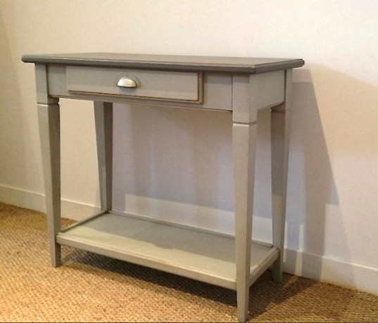 Consoles meubles good ajouter au panier with consoles for Meuble console style industriel