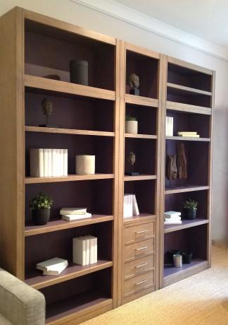 bibliotheque modulable bois massif sur mesure. Black Bedroom Furniture Sets. Home Design Ideas