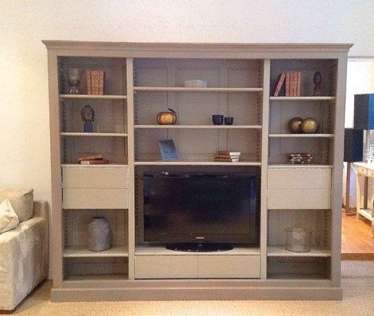 biblioth que meuble tv manhattan coup de soleil mobilier. Black Bedroom Furniture Sets. Home Design Ideas